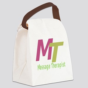Massage Therapist Canvas Lunch Bag