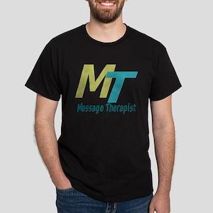 Logo Style Massage Therapist Dark T-Shirt