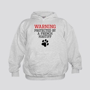 Protected By A French Mastiff Hoodie
