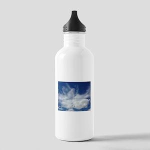 Jesus in Clouds Water Bottle