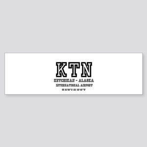 AIRPORT CODES - KTN - KETCHIKAN, AS Bumper Sticker