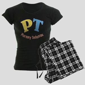 Pharmacy Technician Women's Dark Pajamas