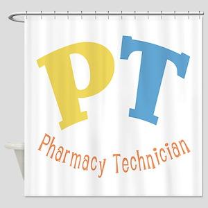 Pharmacy Technician Shower Curtain