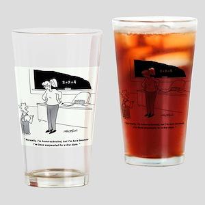 Homeschool Public School Drinking Glass