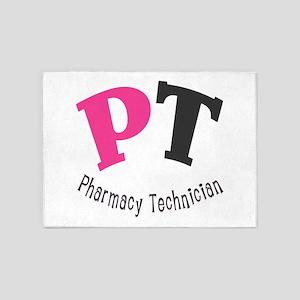 Pharmacy Technician 5'x7'Area Rug