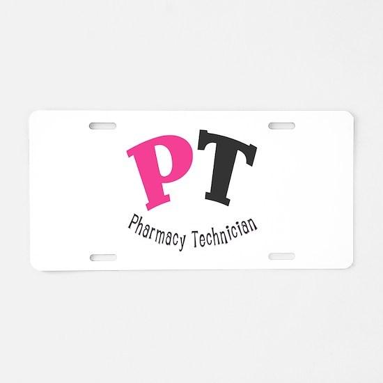 Pharmacy Technician Aluminum License Plate