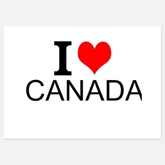 I Love Canada Invitations