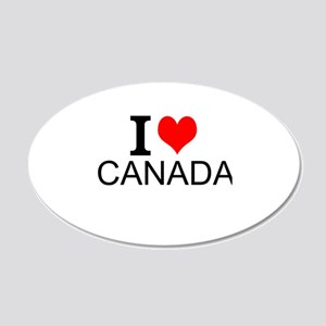 I Love Canada Wall Decal