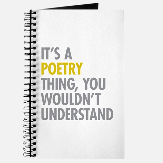Its A Poetry Thing Journal