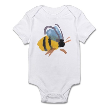 Bee - Watercolor Infant Bodysuit