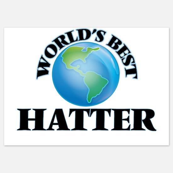 World's Best Hatter Invitations