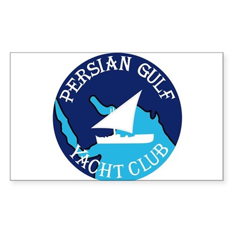 PERSIAN GULF YACHT CLUB Sou Sticker