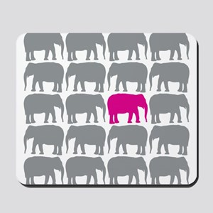 Elephants_T Mousepad