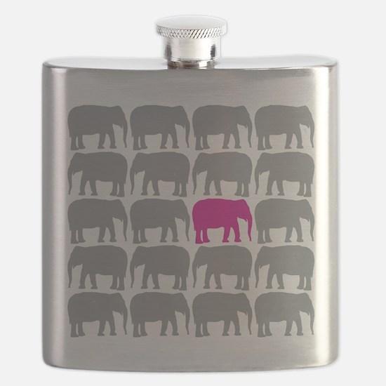 Elephants_T Flask