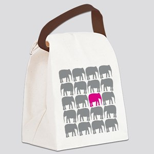 Elephants_T Canvas Lunch Bag