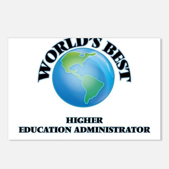 World's Best Higher Educa Postcards (Package of 8)
