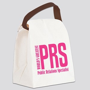 Public Relations Specialist Canvas Lunch Bag