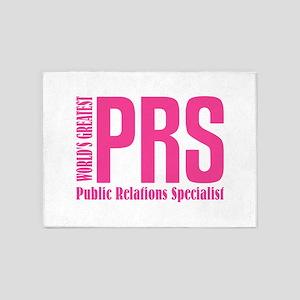 Public Relations Specialist 5'x7'Area Rug