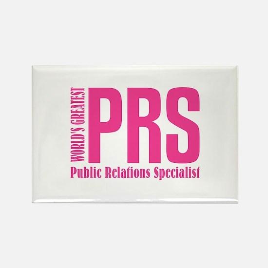 Public Relations Specialist Rectangle Magnet