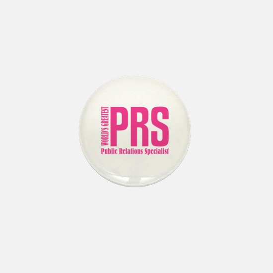Public Relations Specialist Mini Button