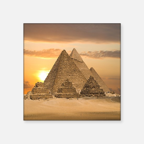 Giza Pyramids Sticker