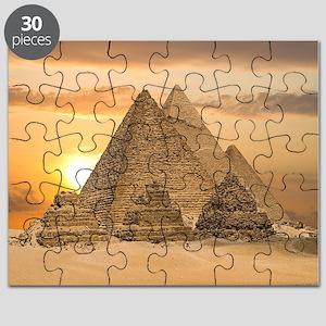 Giza Pyramids Puzzle