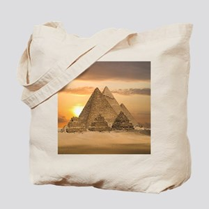Giza Pyramids Tote Bag