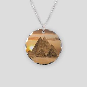 Giza Pyramids Necklace