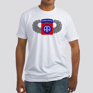 82nd Airborne Division Fitted T-Shirt