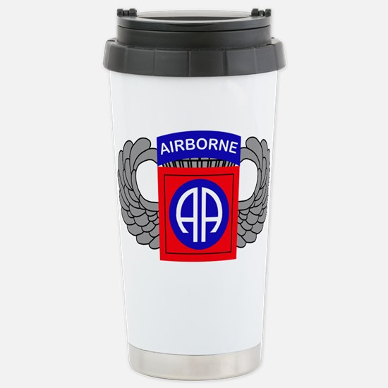 82nd Airborne Division Stainless Steel Travel Mug