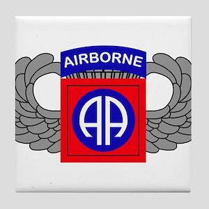 82nd Airborne Division Tile Coaster