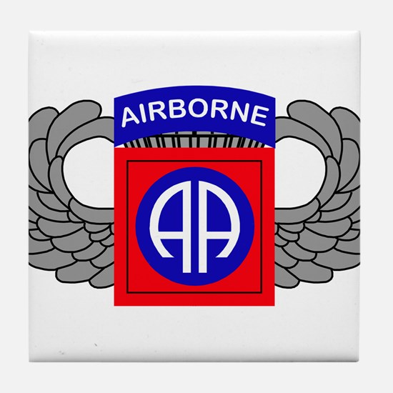 82nd Airborne Division Tile Coaster