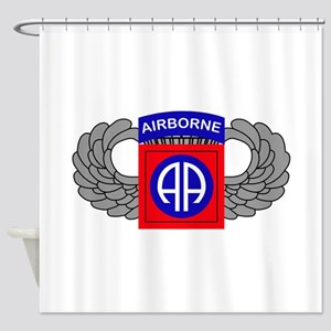 82nd Airborne Division Shower Curtain
