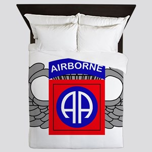 82nd Airborne Division Queen Duvet