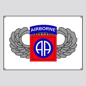 82nd airborne banners cafepress