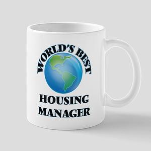 World's Best Housing Manager Mugs