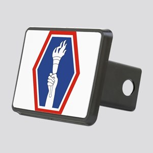 442 Infantry Division. Rectangular Hitch Cover