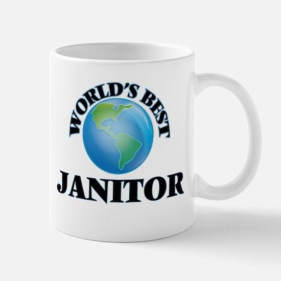 World's Best Janitor Mugs