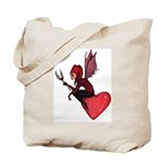 """Jester of Hearts"" Tote Bag"