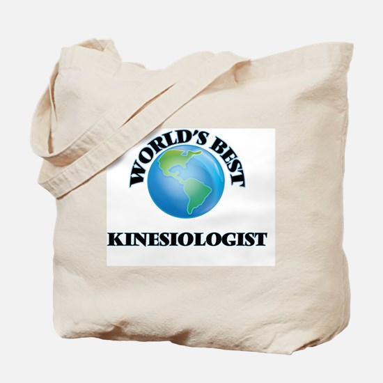 World's Best Kinesiologist Tote Bag