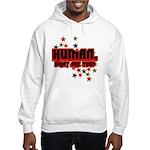 Human. Hooded Sweatshirt