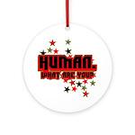 Human. Ornament (Round)