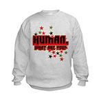 Human. Kids Sweatshirt