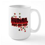 Human. Large Mug
