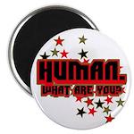 Human. Magnet