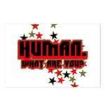 Human. Postcards (Package of 8)