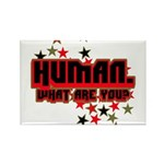 Human. Rectangle Magnet
