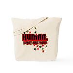 Human. Tote Bag