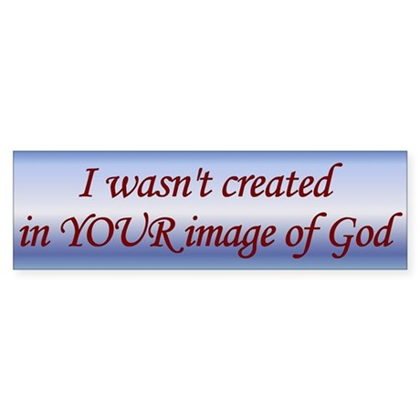 Created in the Image of God...
