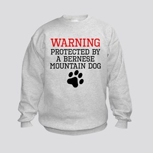 Protected By A Bernese Mountain Dog Sweatshirt